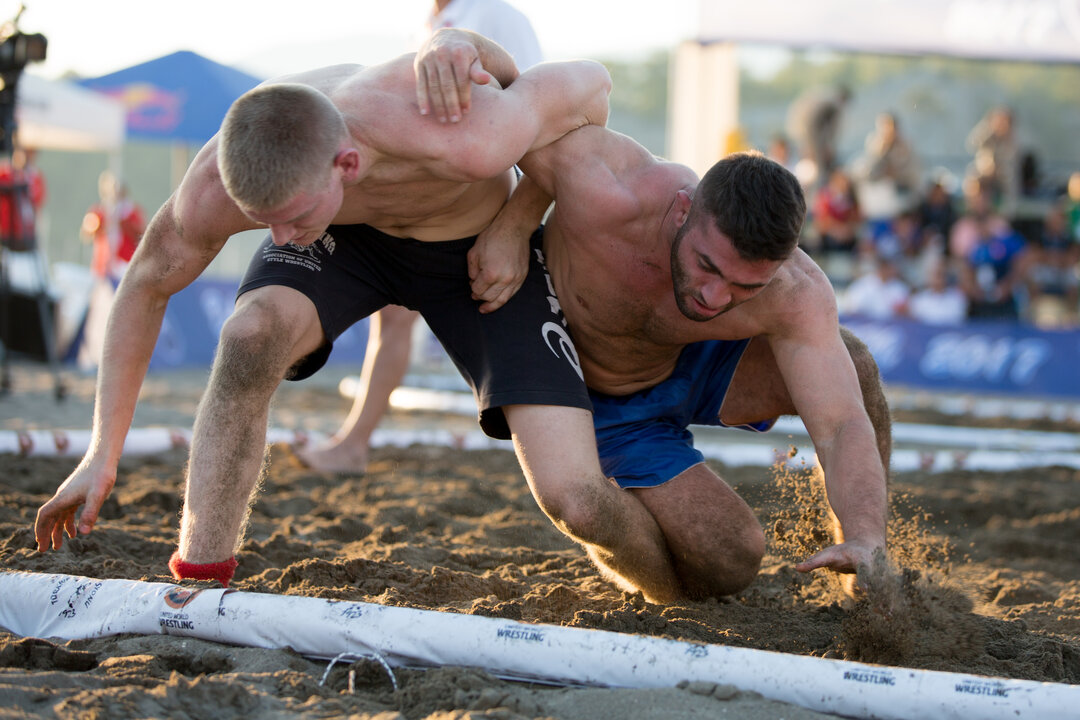 e67c153a ... men and women, at the 2018 Beach Wrestling World Championships. The  event also serves as a qualifying event for the 2019 Beach Games held in  San Diego, ...